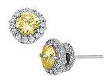 Cheryl M. Cubic Zirconia (CZ) Earrings in Sterling Silver