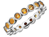 Citrine Ring 1.25 Carat (ctw) in Sterling Silver