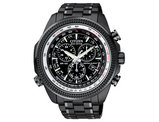 Men's Citizen Eco-Drive Perpetual Calendar Watch in Black Ion Stainless Steel (BL5405-59E)