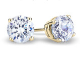 Diamond Earrings 1/2 Carat (ctw) in 14K Yellow Gold