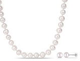 Freshwater Cultured Pearl 9-10mm Necklace (18 inch) and Earring Set