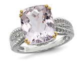 Amethyst Ring 4.70 Carats (ctw) in Sterling Silver
