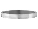 Hinged Bangle in Sterling Silver (9.5mm)